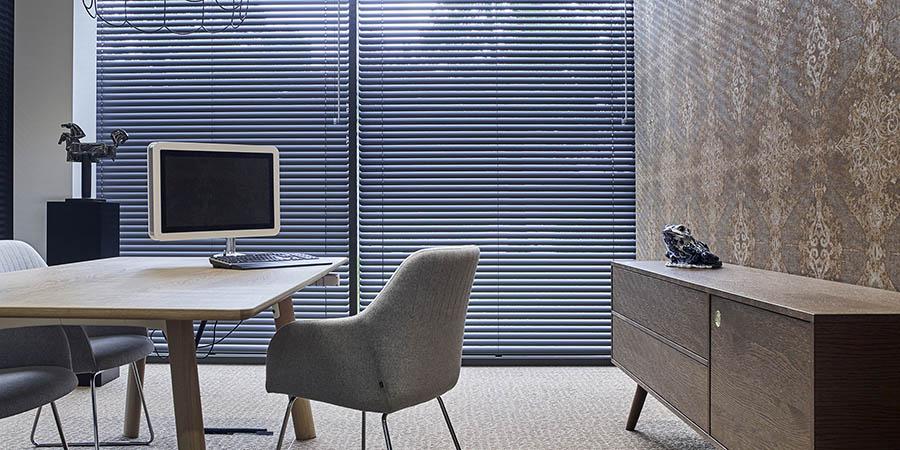 aluminium jaloezie werkkamer