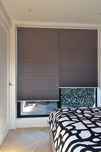 dupli shades slaapkamer
