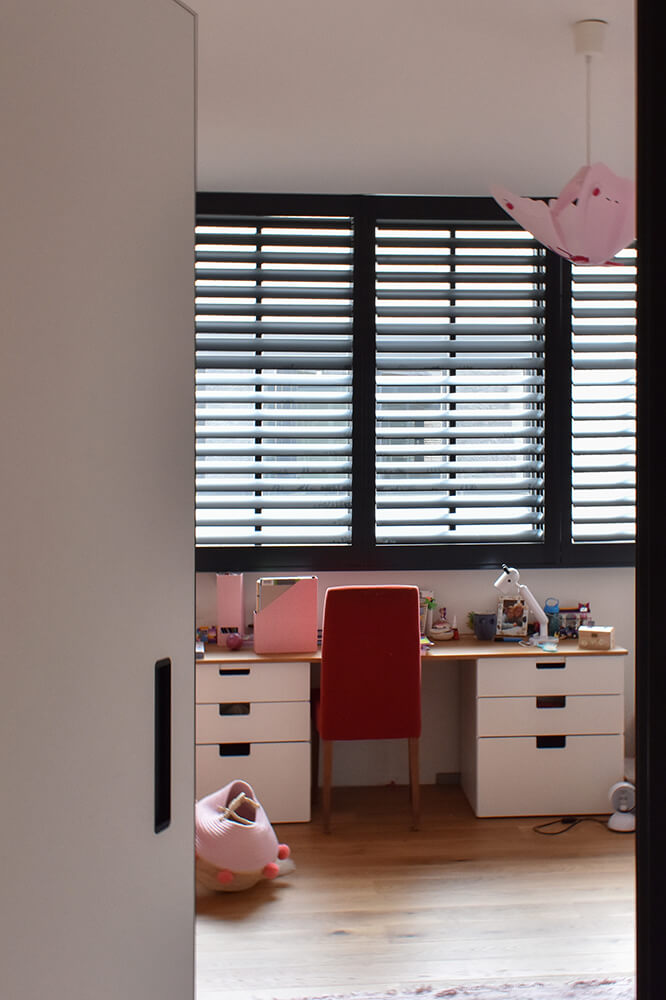shutters kindkamer slaapkamer