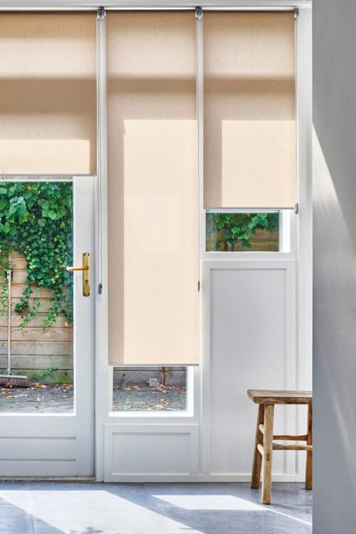 rolgordijnen smal raam