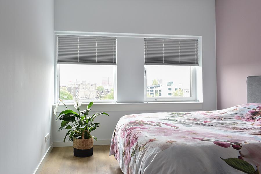 verduisterend plissegordijn slaapkamer