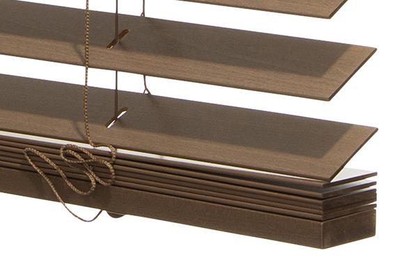 houten jaloezie classic lamel details